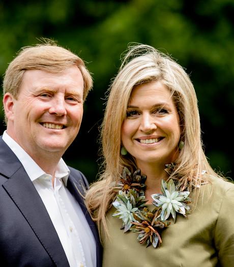Koning en koningin op 21 april bij Koningsspelen in Veghel