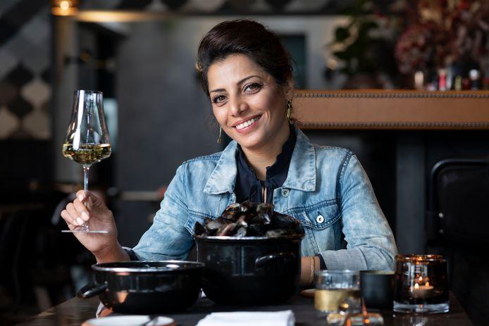 Sommelier Sepideh Sedaghatnia.