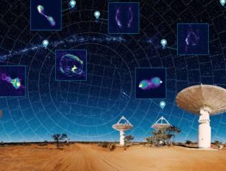 Radiotelescoop brengt op recordtempo zo'n miljoen nieuwe sterrenstelsels in beeld