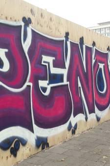 Nieuwe graffiti op schutting: 'Dit is niet voor de massa maar voor de fijnproevers'