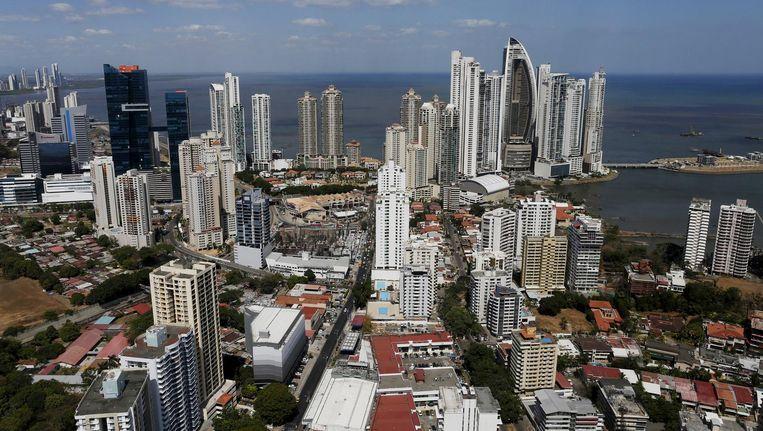 Panama-Stad, de hoofdstad van Panama, een van de 17 landen op de zwarte lijst van belastingparadijzen. Beeld reuters