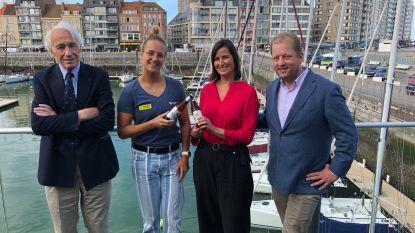 Brouwerij De Halve Maan sponsort nu ook zeilster Emma Plasschaert met Sportzot