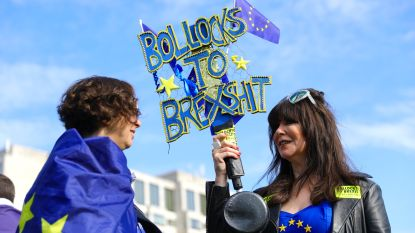 LIVE. Tienduizenden Britten betogen in Londen voor nieuw Brexit-referendum