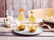 3 recettes à base de fromage pour une boîte à tartines rigolote