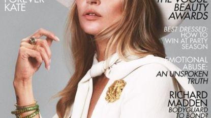 Te klein, te oud, te rebels en toch zit Kate Moss aan Vogue-cover nummer 40
