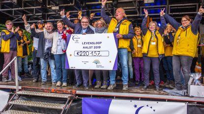 Fantastisch! Levensloop haalt 220.157 euro op voor Stichting tegen Kanker