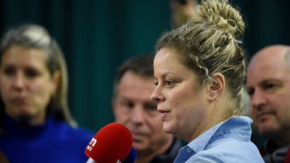 """Kim Clijsters tempert verwachtingen: """"Als mensen spreken van een grandslamzege of top 10, dan moet ik eens lachen"""""""