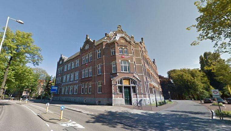 Het Metis Montessori Lyceum wordt momenteel verbouwd Beeld Google Street View