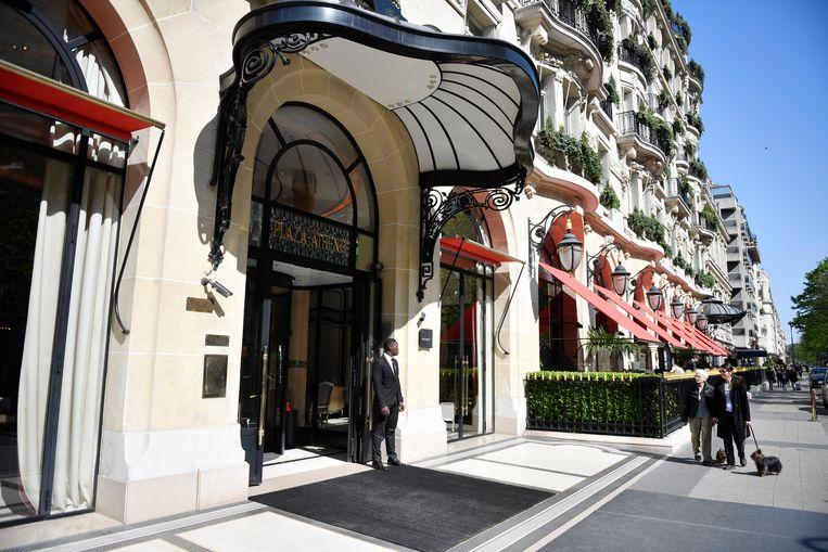 Hotel Plaza Athénée  (Parijs).