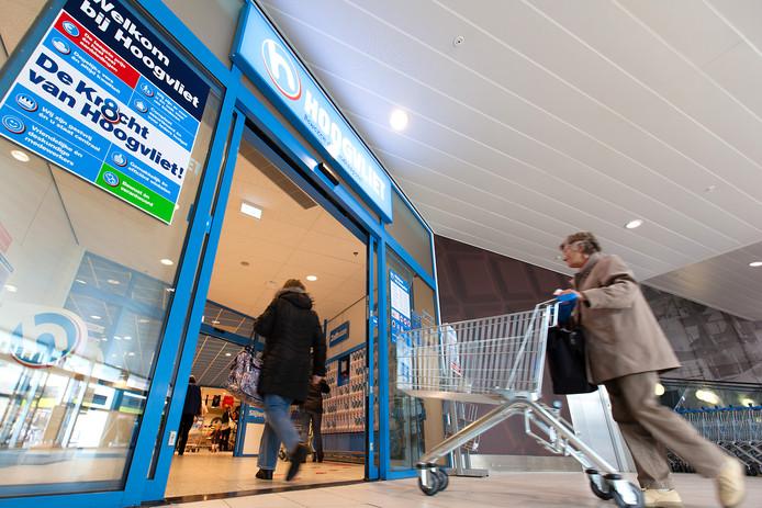 De Hoogvliet in winkelcentrum Baronie in Alphen.