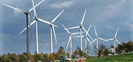 Windmolens langs de A15 in Neder-Betuwe