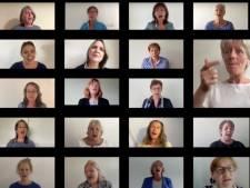 Projectkoor 'Werk in uitvoering' uit Eindhoven zingt online door