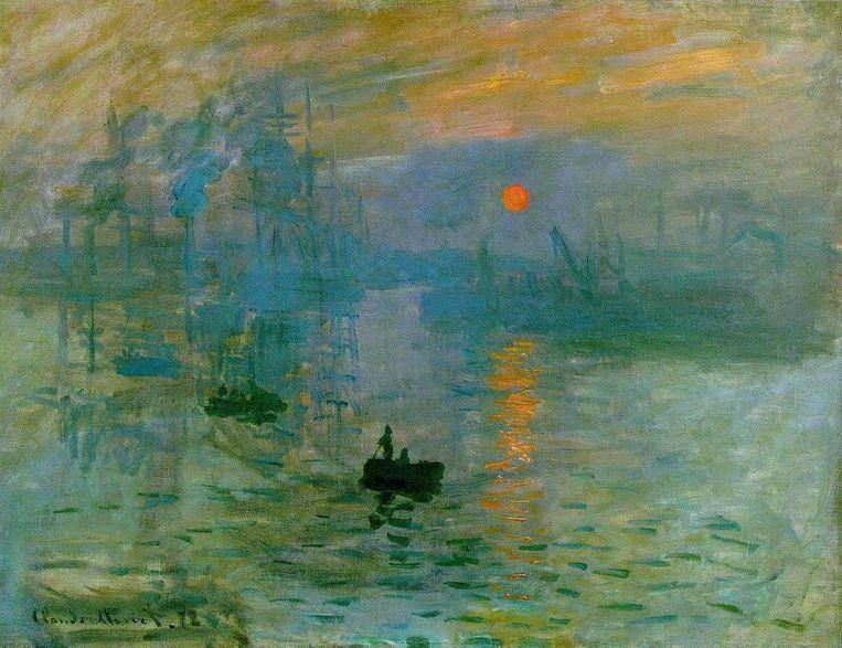 Impressionisme, Claude Monet Impression - Soleil levant, 1872. 'Impressionisme is je gevoel laten spreken, vrij experimenteren met je gedachten.' Beeld Musée Marmottan Monet