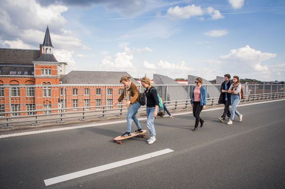 Ook in Gent maakt koning auto plaats voor andere vervoersmiddelen.
