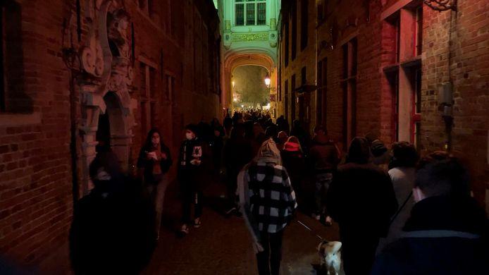 De volkstoeloop op Wintergloed in Brugge vorig weekend.
