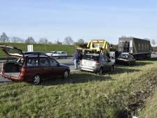 Kettingbotsing op de A325 bij Arnhem