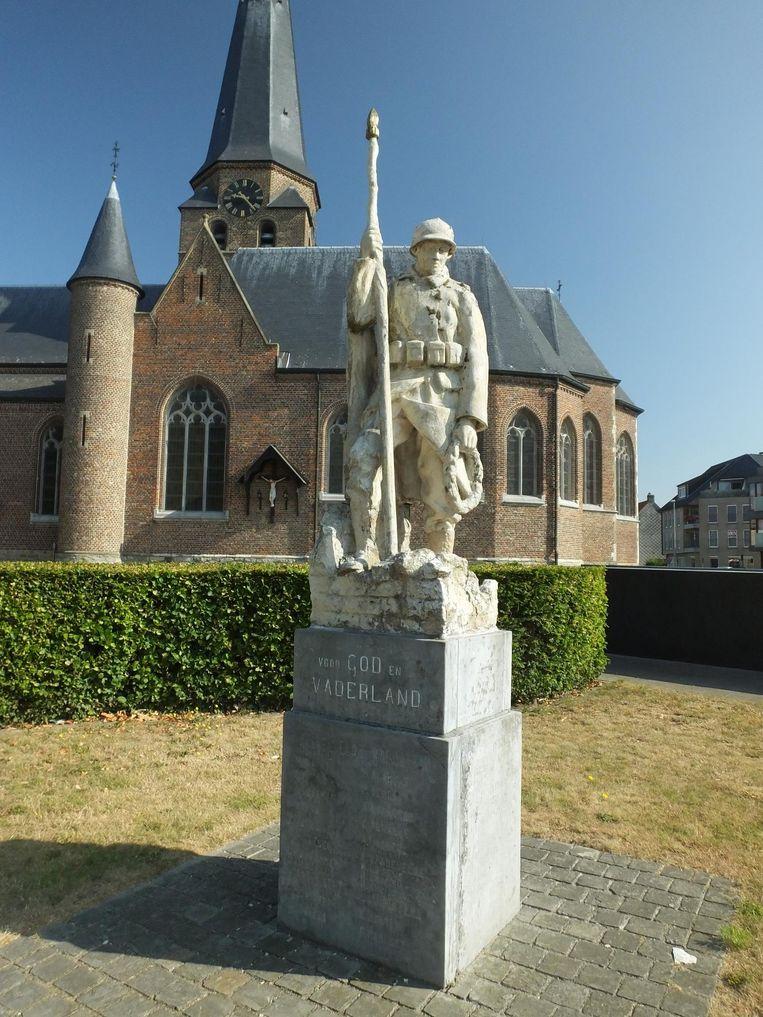 Het oorlogsmonument in Zulte.
