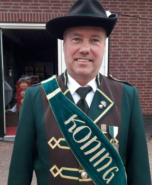 Koning Jeu de Ruyter van Schutterij Hubertus De Horst.