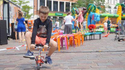 FOTOREEKS. Kinderen baas op Vlaamse feestdag  in Tielt