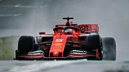 Ferrari domineert in kletsnatte tweede oefensessie van Brazilië, Leclerc moet tien plaatsen achteruit