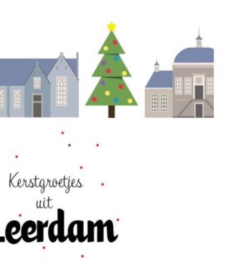 'Groetjes uit Leerdam' met nieuwe kerstkaart