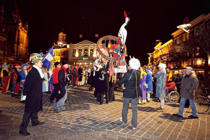 Met het neerhalen van het eileuversnest is er een einde gekomen aan het carnaval.