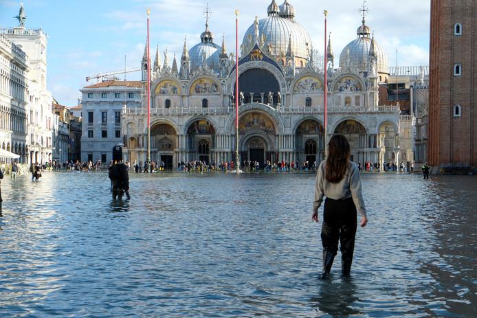 Les Vénitiens ont littéralement les pieds dans l'eau.