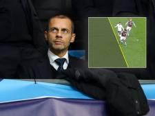 UEFA-baas haalt uit naar VAR: 'Heb je een grote neus, sta je buitenspel'