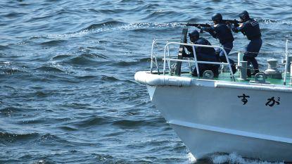 18 opvarenden gered van zinkende vissersboot bij Japan