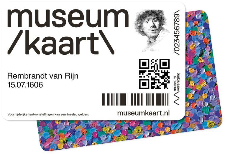 De Museumkaart. De Museumvereniging weigert de gegevens van de kaart openbaar te maken. Beeld Koen Janssen / Frank Schallmaier