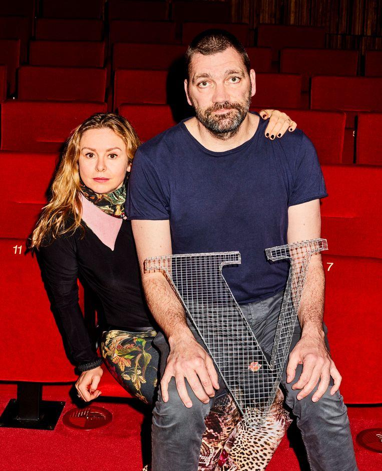 Theo Maassen en Sunny Bergman. Beeld Valentina Vos