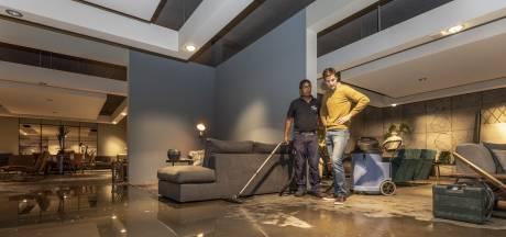 Gloednieuwe showroom van Löwik in Vriezenveen is na één nacht waardeloos geworden