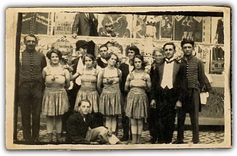 """Circus Anglo-Belge, het circus van de achterkleinkinderen """"Kean"""" in de eerste helft van de vorige eeuw"""