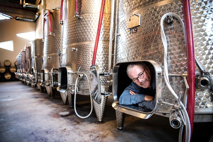 Thierry Lejeune a décidé de développer la première winery urbaine de Belgique : Gudule Winery Brussels.