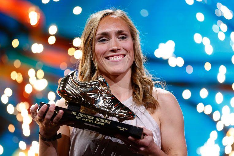Janice Cayman won vorig jaar de Gouden Schoen.