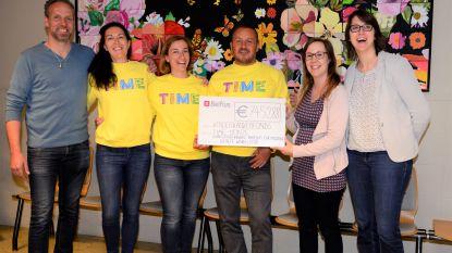 TIME brengt 7.452,88 euro op voor het Kinderkankerfonds