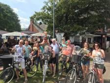 Alternatieve Zwarte Cross op de fiets: met z'n honderden over zandpaden crossen