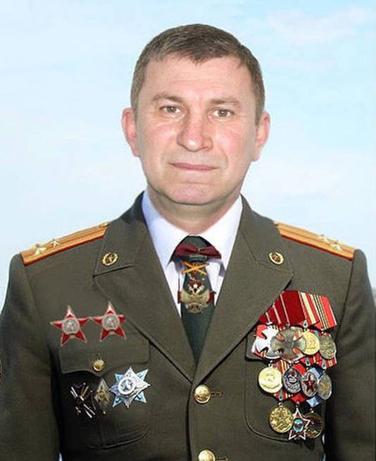 De Russische ex-officier Sergej Doebinski