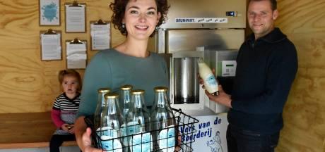 Zin in een glas melk? Bij deze boerderij kan je het zelf tappen! 'Het is net een snoepautomaat'