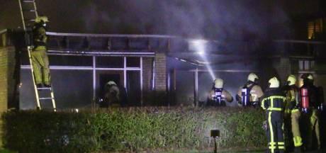 Studentenwoning uitgebrand in Enschede