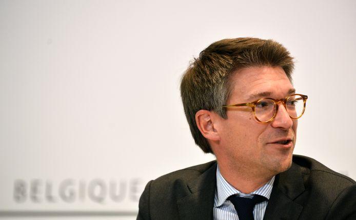 Pierre-Yves Dermagne, ministre fédéral de l'Économie (PS).