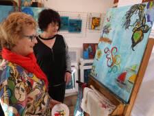 Schilder mee-actie Sia Braakman een succes