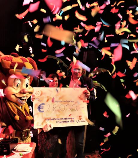 Loonse rotaryclub schenkt 28.000 euro van benefietavond aan Villa Pardoes