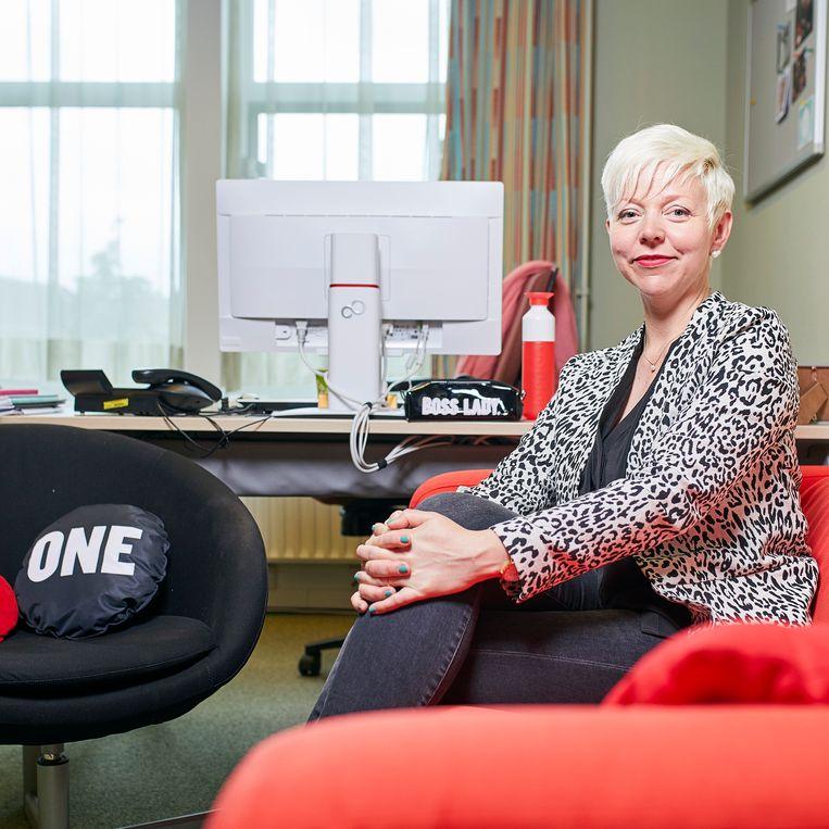 Kirsten van den Hul: 'Alleen samen kunnen we het beste uit iedereen halen.' Beeld Phil Nijhuis