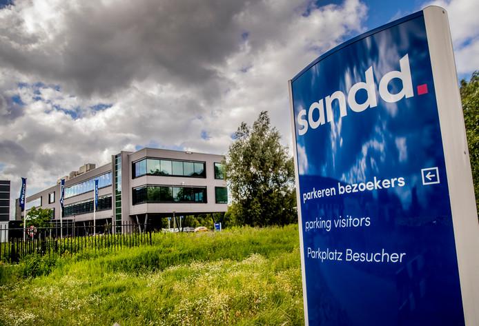 Het hoofdkantoor van Sandd in Apeldoorn.