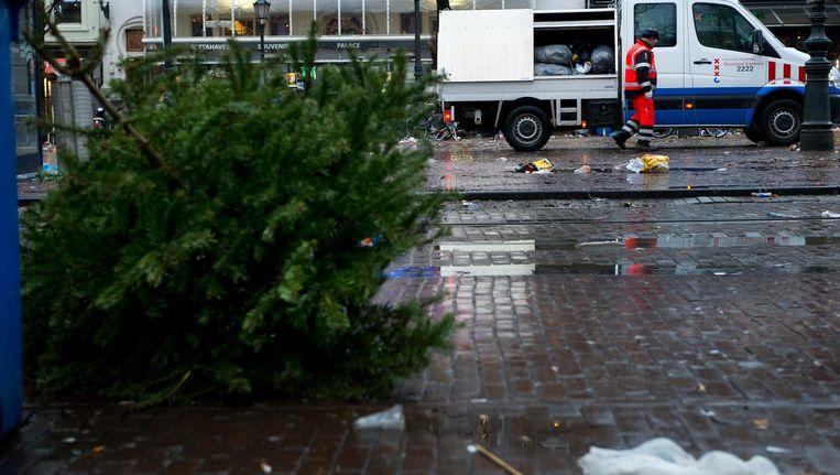 Dit jaar helaas geen beloning voor je uitgerangeerde kerstboom. Beeld anp