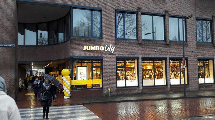 Jumbo City-vestiging in Visstraat.