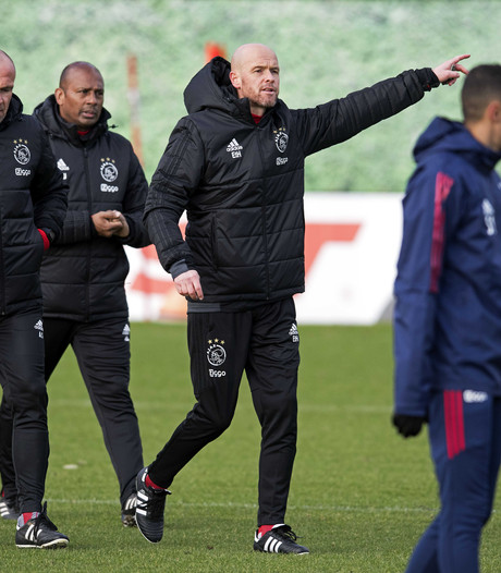Ten Hag rekent op supporters Ajax