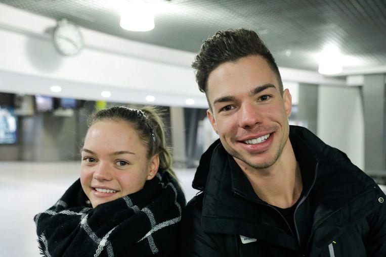 Loena en Jorik Hendrickx.