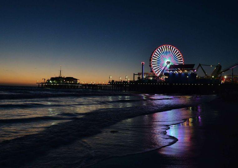 De Pacific Wheel op de Santa Monica Pier. Beeld Mark Ralston